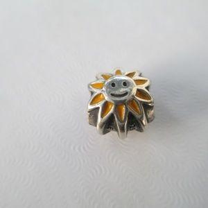 PANDORA SUN CHARM SILVER 790532EN20 Sunshine bead